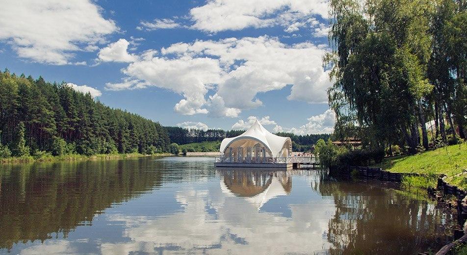 Озеро парк-отель Мечта Орел