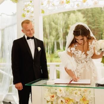 Валерий и Алевтина. Свадьба в парк-отеле Мечта