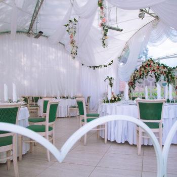Ресторан Мечта Орел, ротонда на берегу